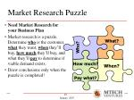 market research puzzle
