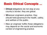 basic ethical concepts25