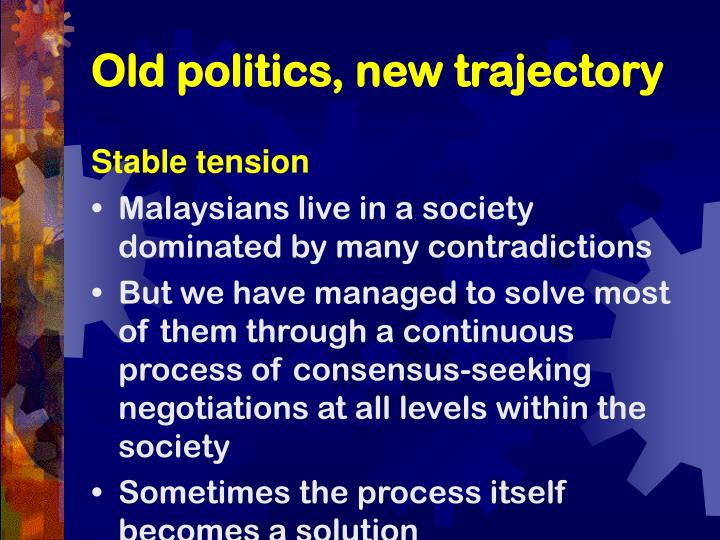 Old politics new trajectory3