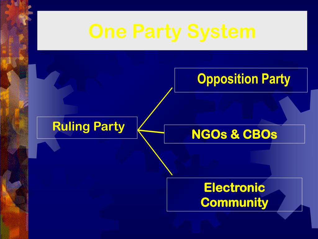 One Party System