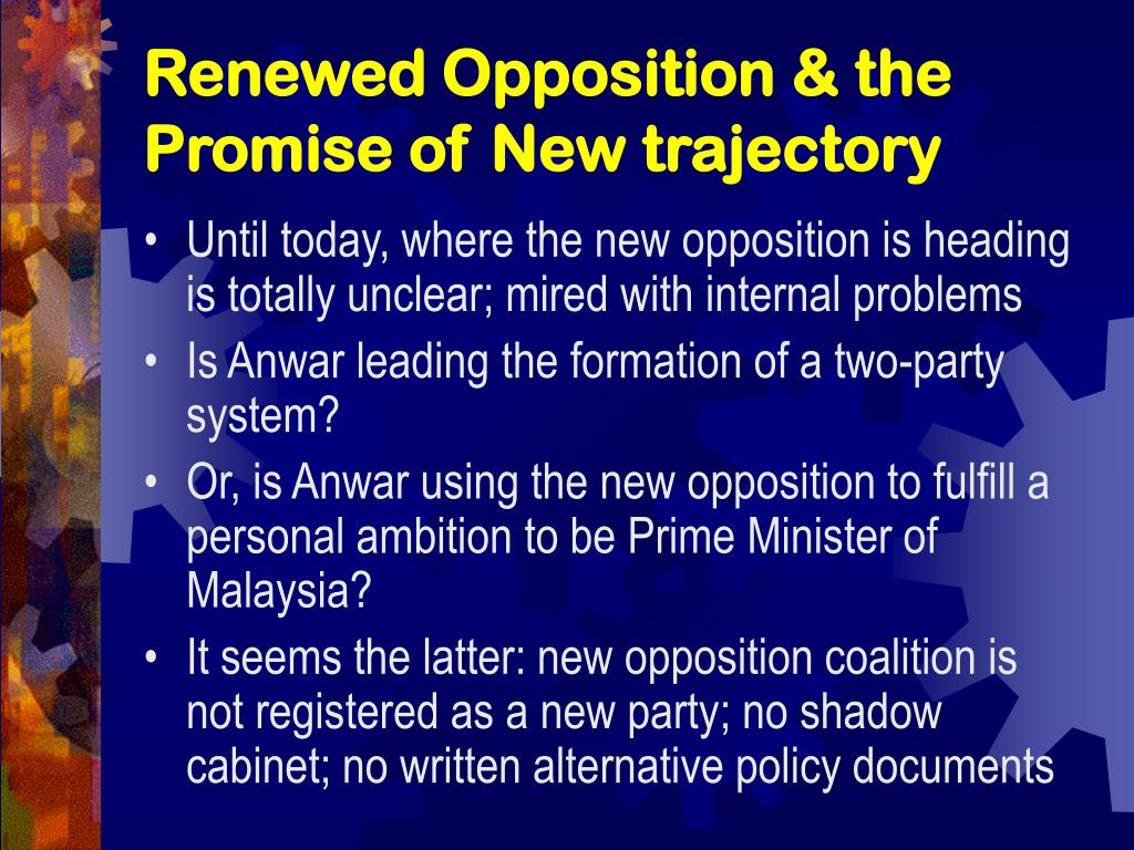 Renewed Opposition & the Promise of New trajectory