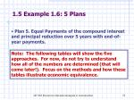 1 5 example 1 6 5 plans