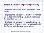 section 1 1 role of engineering economy