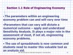 section 1 1 role of engineering economy1