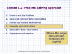 section 1 2 problem solving approach2