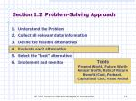section 1 2 problem solving approach3