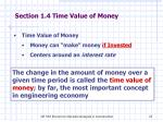 section 1 4 time value of money
