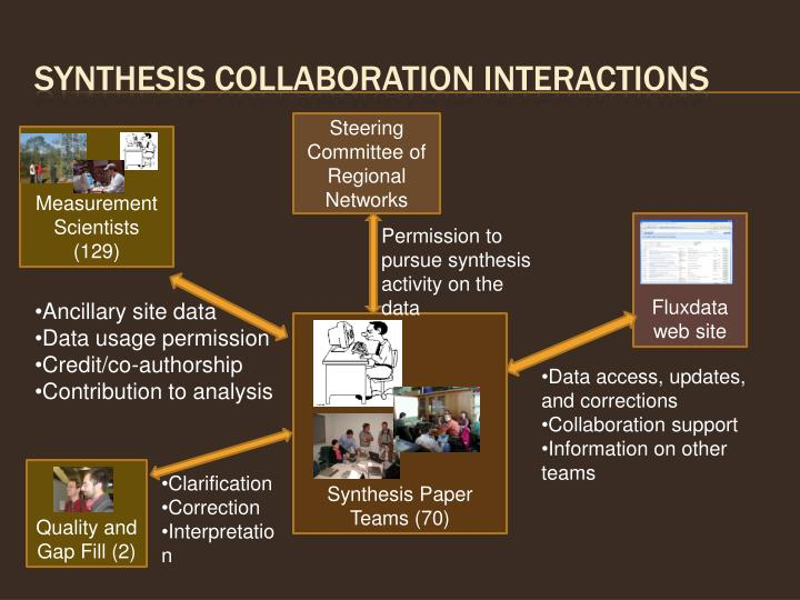 Synthesis Collaboration interactions