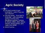 agric society