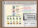 cuadro de mando y protecci n de una vivienda