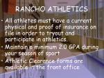 rancho athletics21