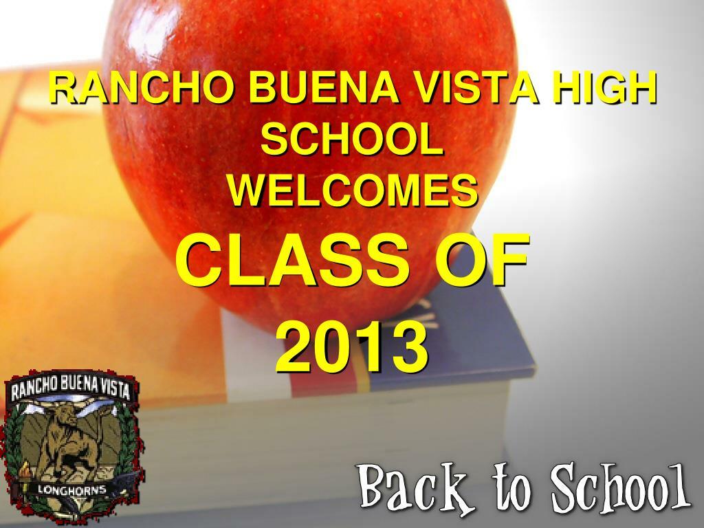 RANCHO BUENA VISTA HIGH SCHOOL
