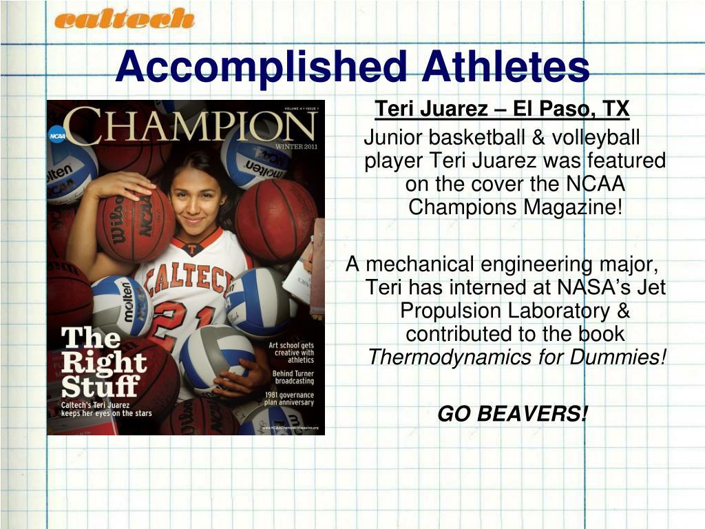Accomplished Athletes