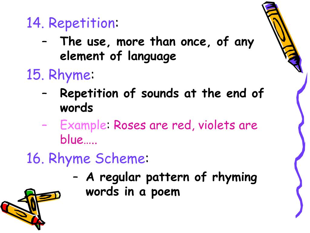 14. Repetition