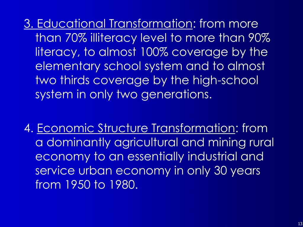 3. Educational Transformation
