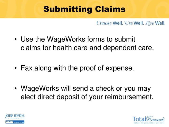 Submitting Claims