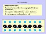 d4310 polymerisatie 2
