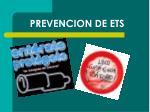 prevencion de ets