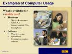 examples of computer usage2