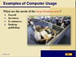 examples of computer usage4