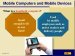 mobile computers and mobile devices3