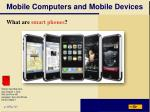 mobile computers and mobile devices5