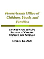 pennsylvania office of children youth and families