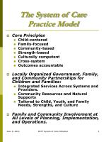the system of care practice model