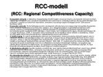 rcc modell rcc regional competitiveness capacity