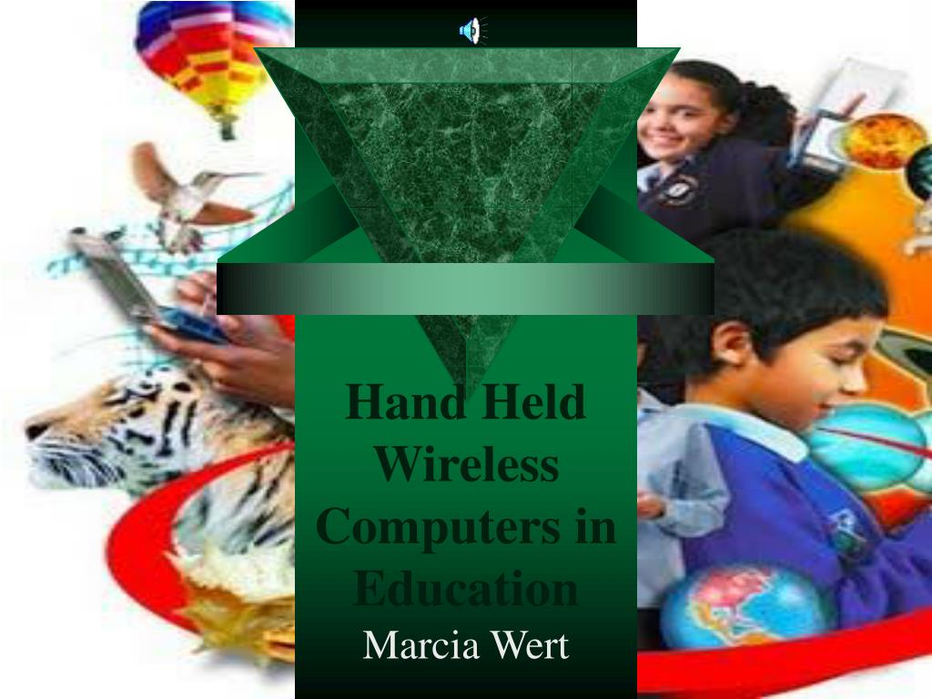 hand held wireless computers in education l.
