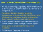 what is palestinian liberation theology