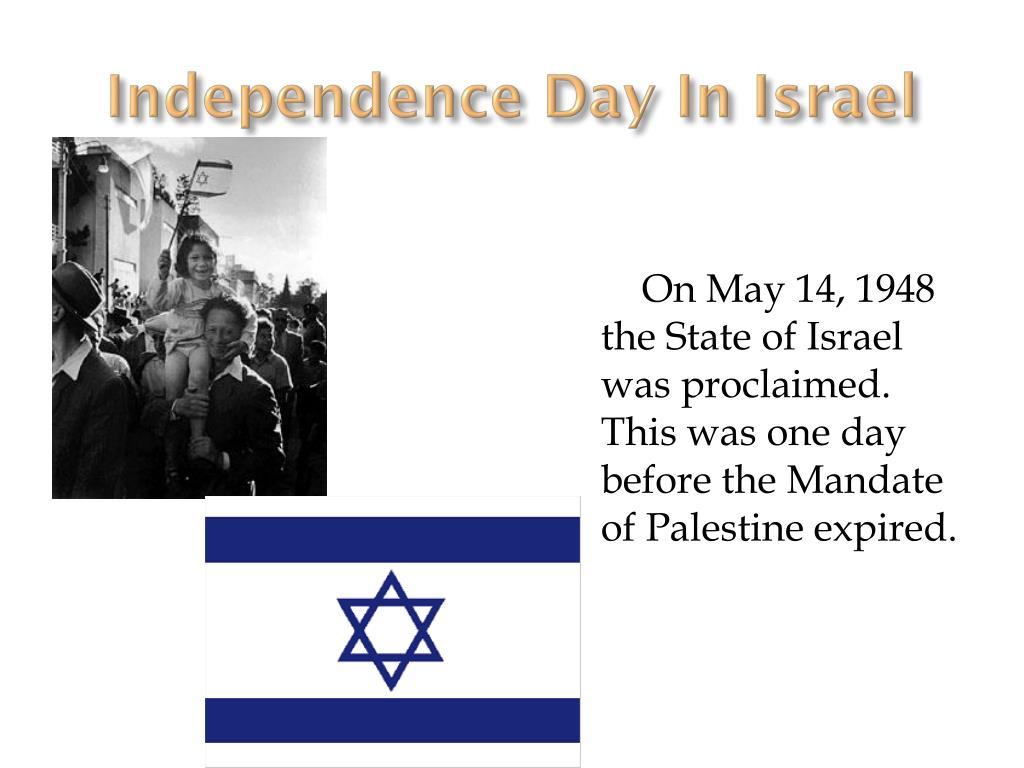 Independence Day In Israel