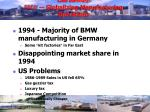 case summary bmw globalizing manufacturing operations