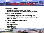 global cost forces