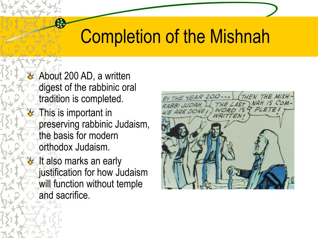 Completion of the Mishnah