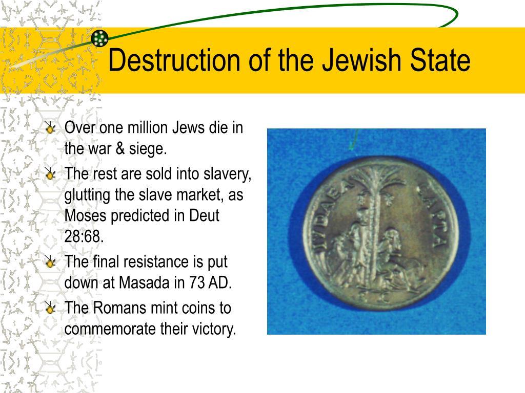 Destruction of the Jewish State