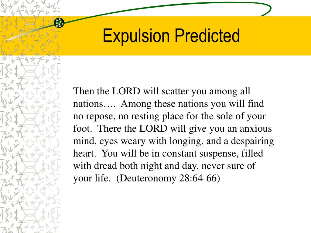 Expulsion Predicted