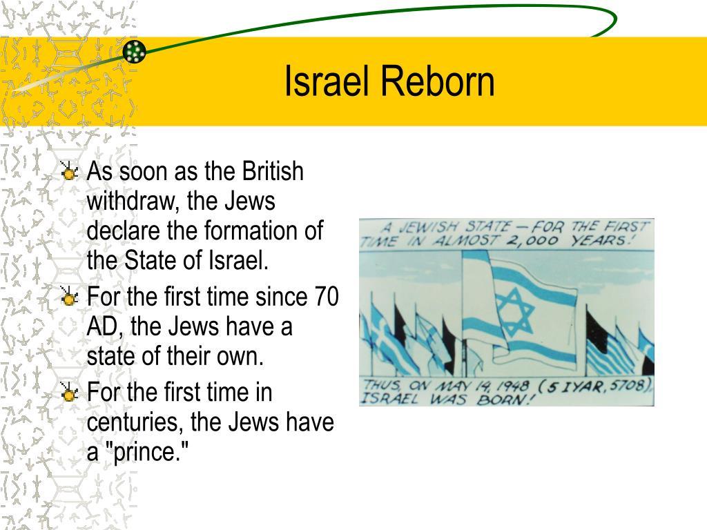 Israel Reborn