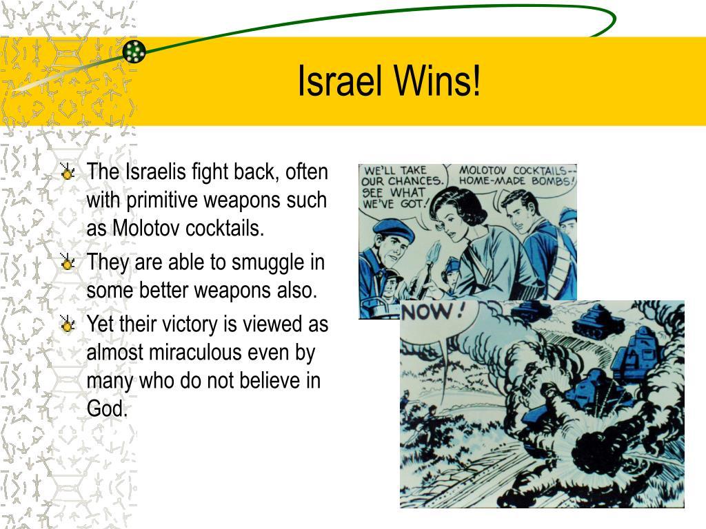 Israel Wins!