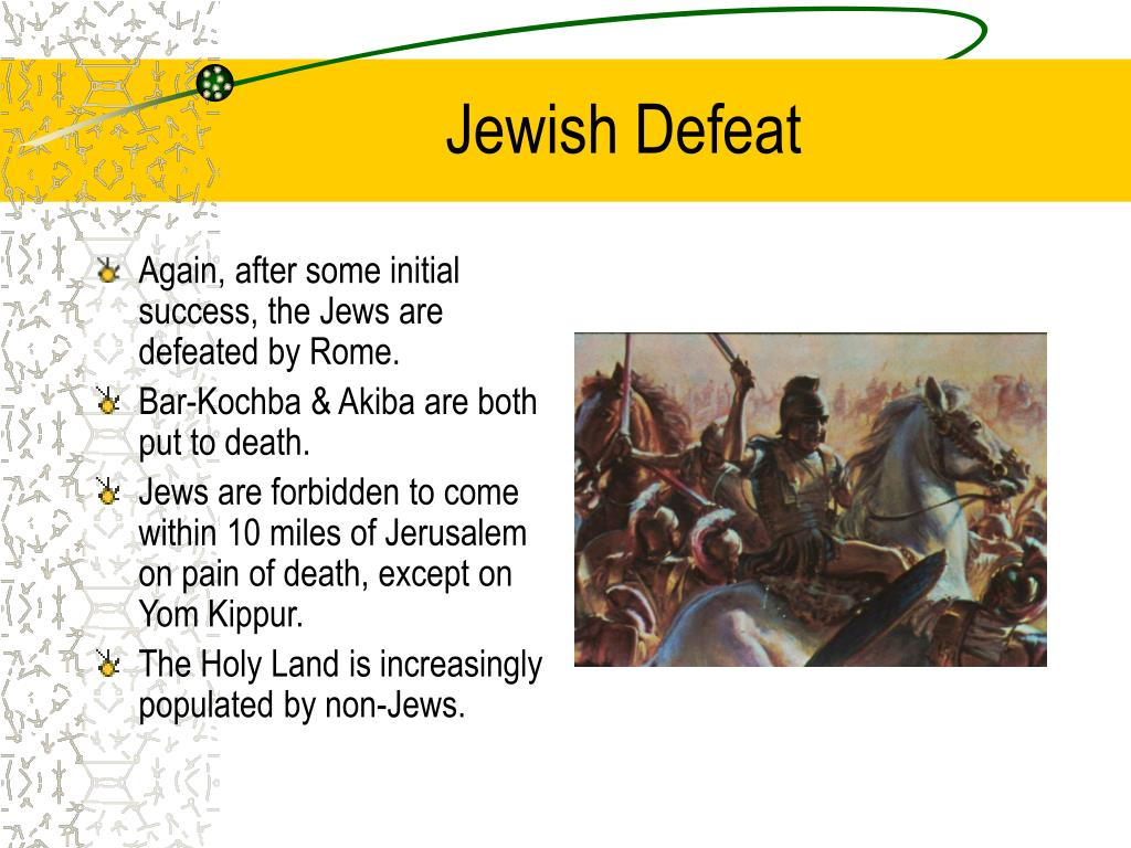 Jewish Defeat