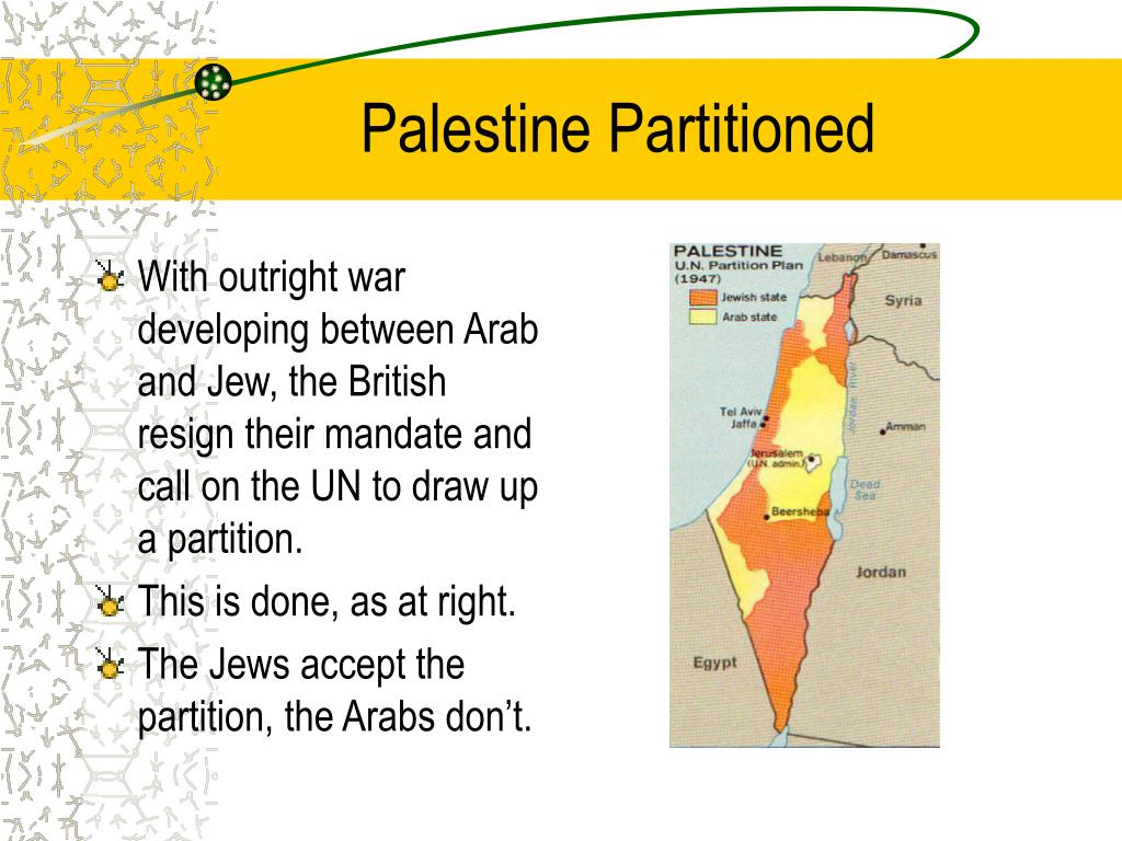 Palestine Partitioned