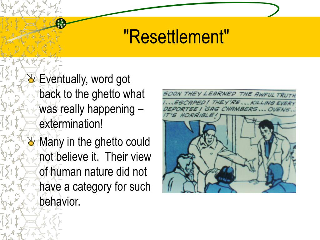 """Resettlement"""