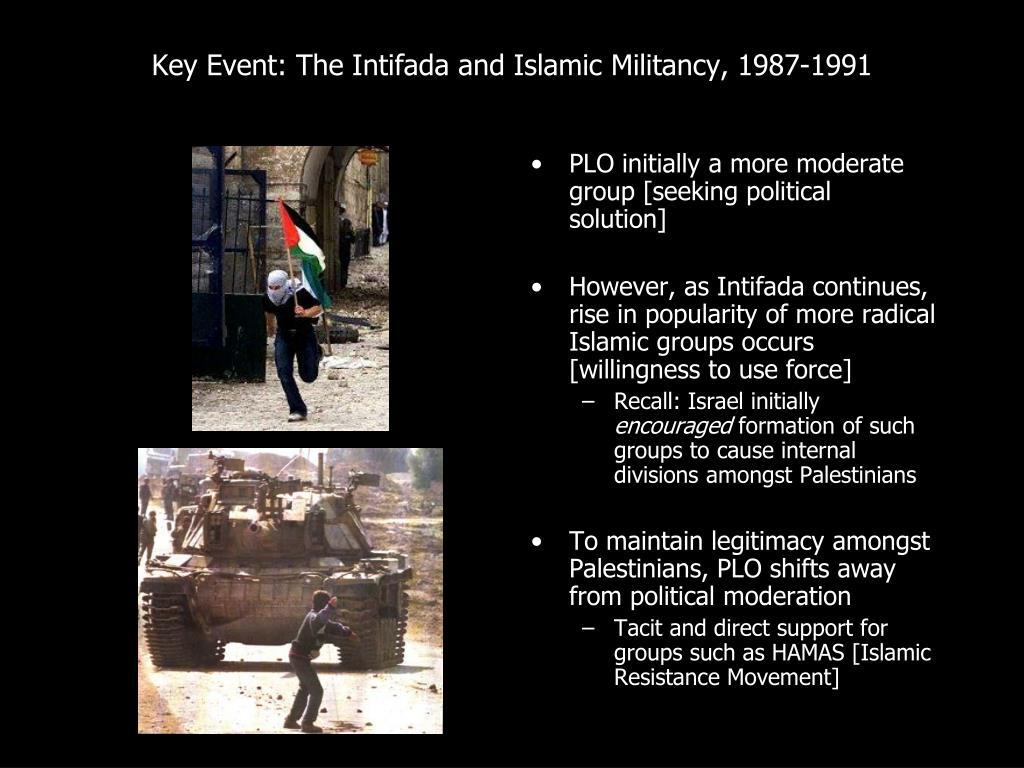Key Event: The Intifada and Islamic Militancy, 1987-1991