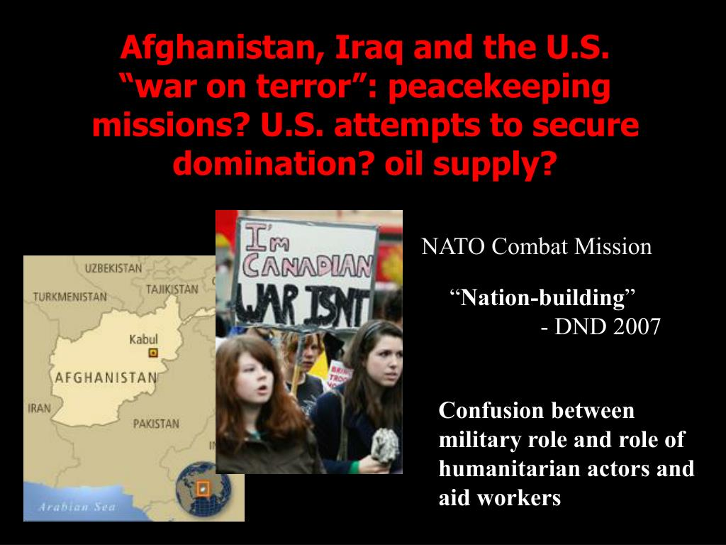 Afghanistan, Iraq and the U.S.