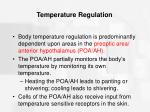 temperature regulation6