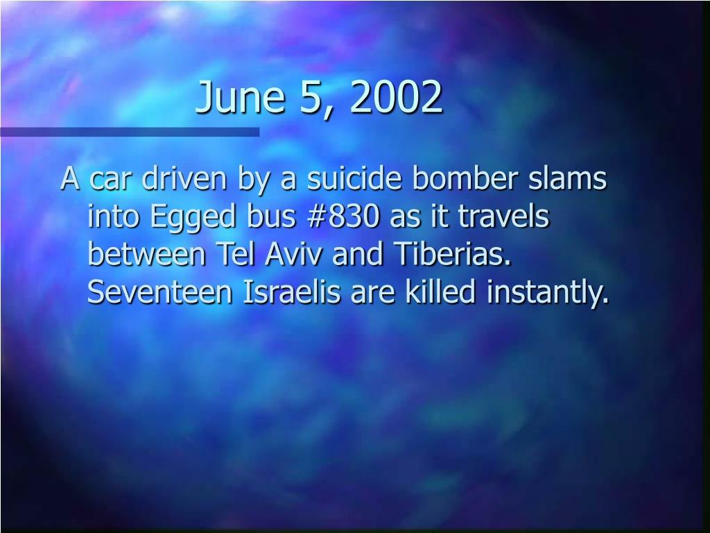 June 5, 2002