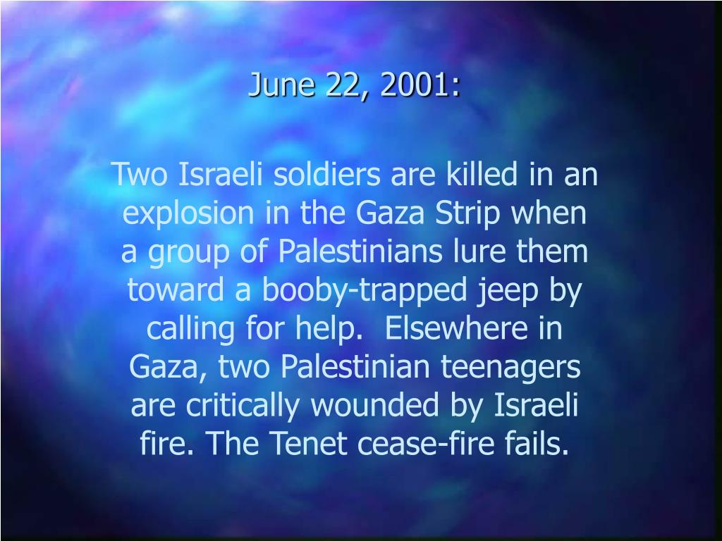 June 22, 2001: