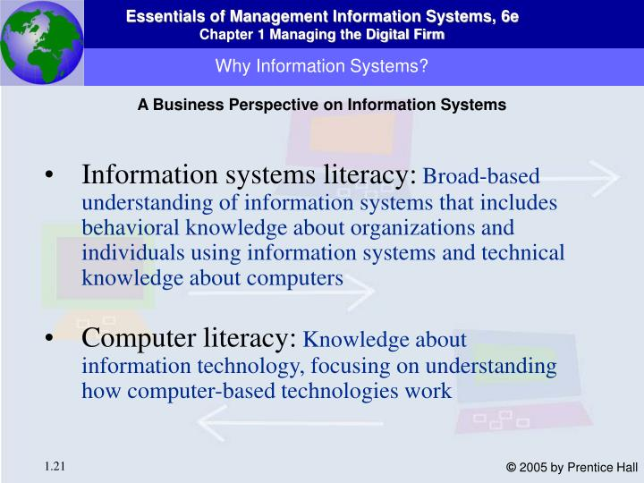 Why Information Systems?