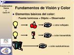 fundamentos de visi n y color3