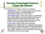 choosing prepackaged foods for people with diabetes2